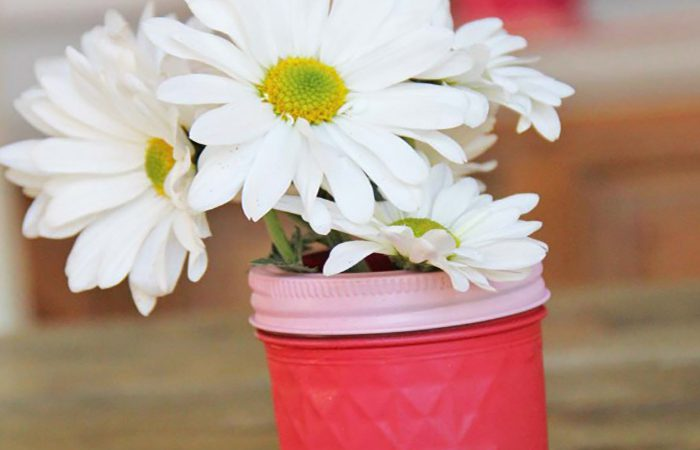 decorazione fiori faidate