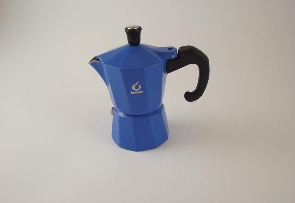 Caffettiera Braschi blu