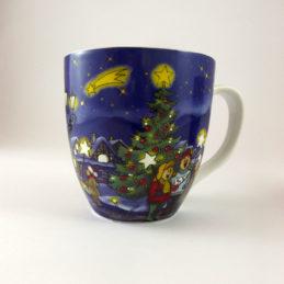 Tazza Mug Natale Blu