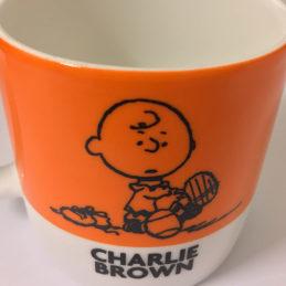 Tazza Caffè Charlie Brown Arancione