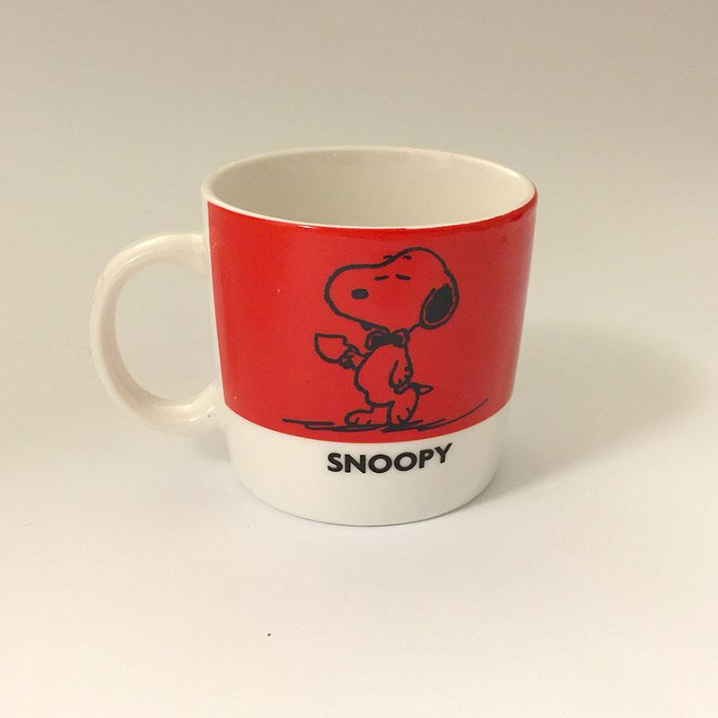mug Snoopy Rossa