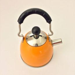 Teiera Arancione con Filtro