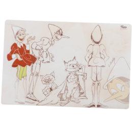 Tovaglietta Gatto e la Volpe con Pinocchio