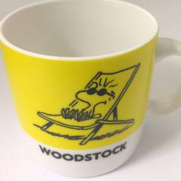 mug Woodstock Giallo