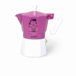 Caffettiera Tre Tazze Viola Lucy
