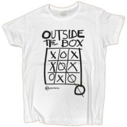 Maglietta Uomo Outside The box