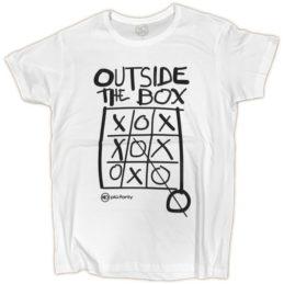 Maglietta Uomo Outside The box
