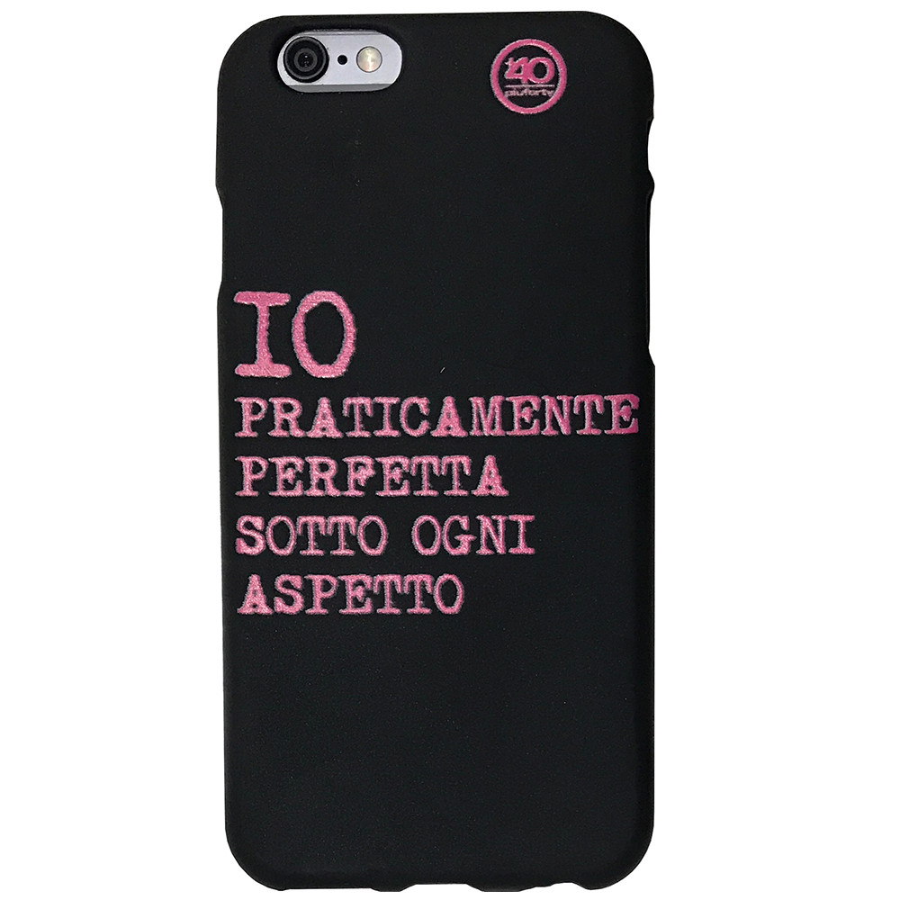 Cover iPhone Io Praticamente Perfetta