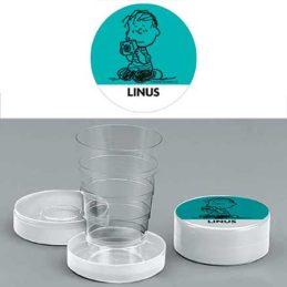 Bicchiere chiudibile a telescopio Linus