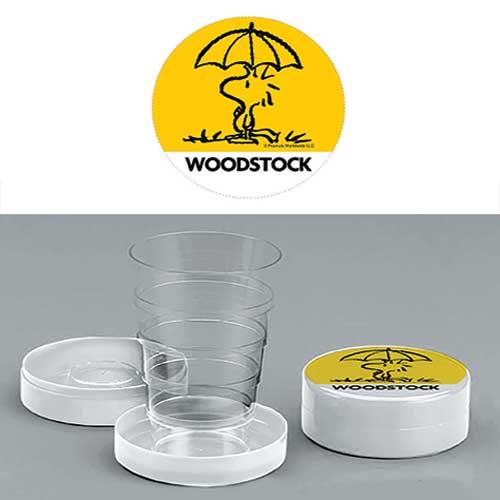 Bicchiere chiudibile a telescopio Woodstock