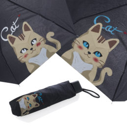 Ombrello cambia colore con Acqua - Gatto