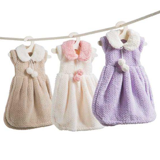 Asciugamano su gruccia - Vestito Pom Pom