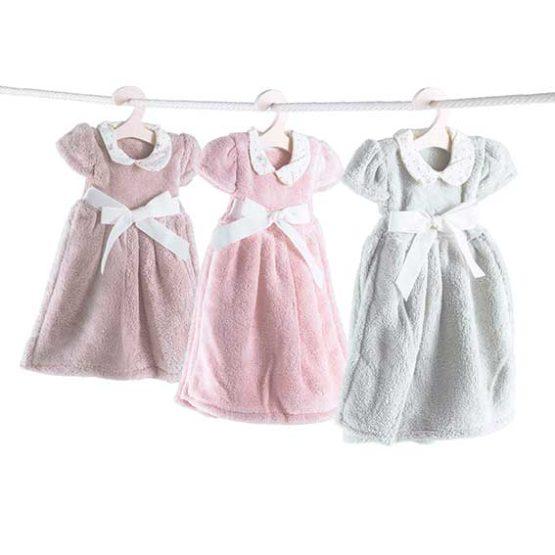 Asciugamano su gruccia - Vestito con Fiocco