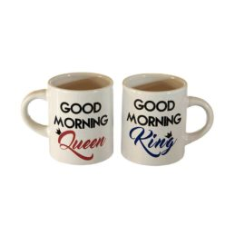 Coppia Tazzine Caffè Good Morning