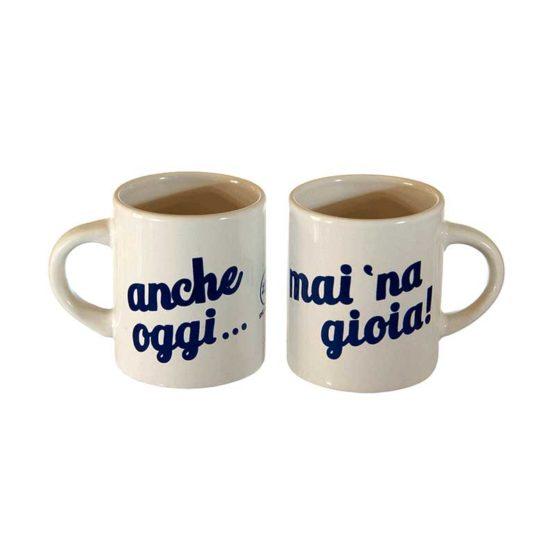 Coppia Tazzine Caffè Mai Na Gioia