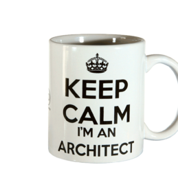 Tazza Mug Keep Calm Architect