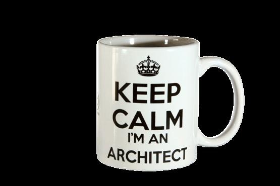 Tazza Mug Keep Calm Architect