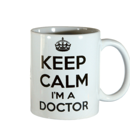 Tazza Mug Keep Calm Doctor