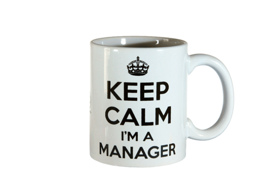 Tazza Mug Keep Calm Manager