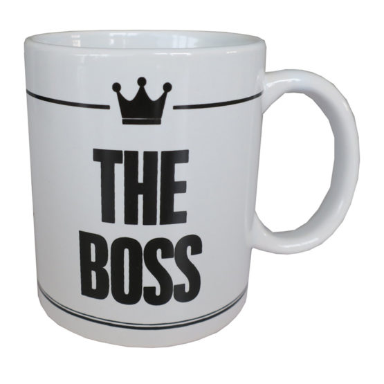 Tazza Mug The Boss