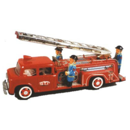 Gioco di latta Camion dei Pompieri