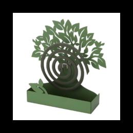 Porta Zampirone Albero Verde in metallo