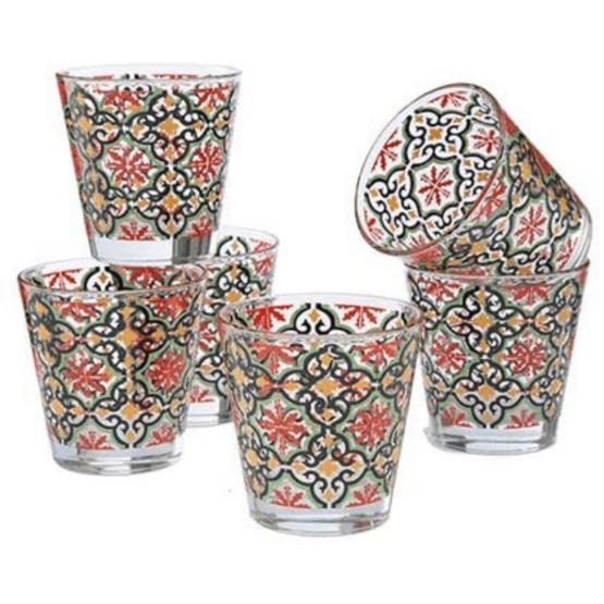 Bicchiere in vetro Acqua linea Cefalù